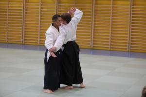 Jubiläums-Stage mit Shihan Yoshinobu Irie 7. Dan Aikikai