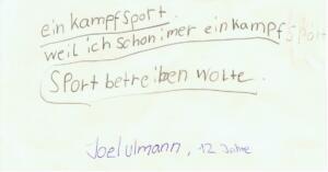 Statement Joel Ulmann