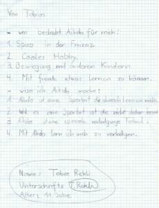 Statement Tobias Rickli